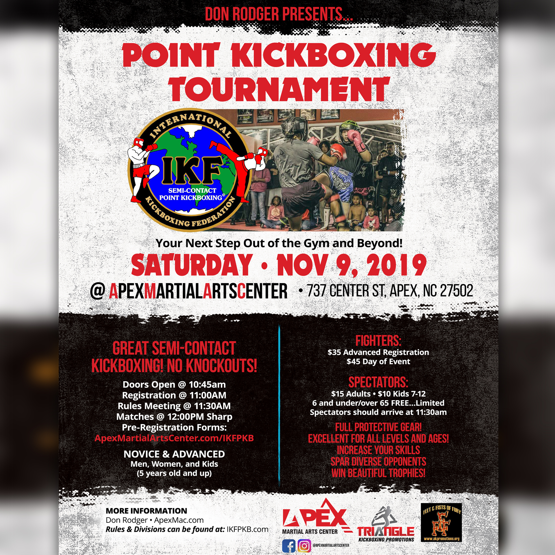 Apex Kickboxing Tournament