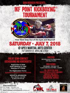 IKF Point Kickboxing Tournament
