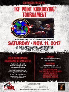 IKF Kickboxing Tournament