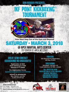 TKP/IKF Point Kickboxing Tournament