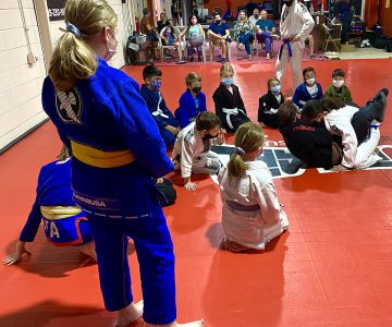 Kids BJJ Promotion Ceremony