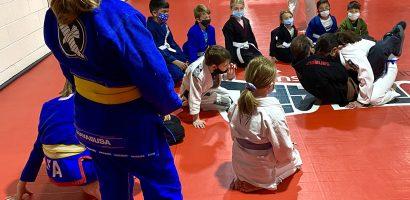 Kids BJJ Promotion Ceremony
