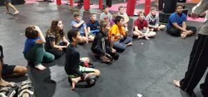 Kids Kickboxing Class
