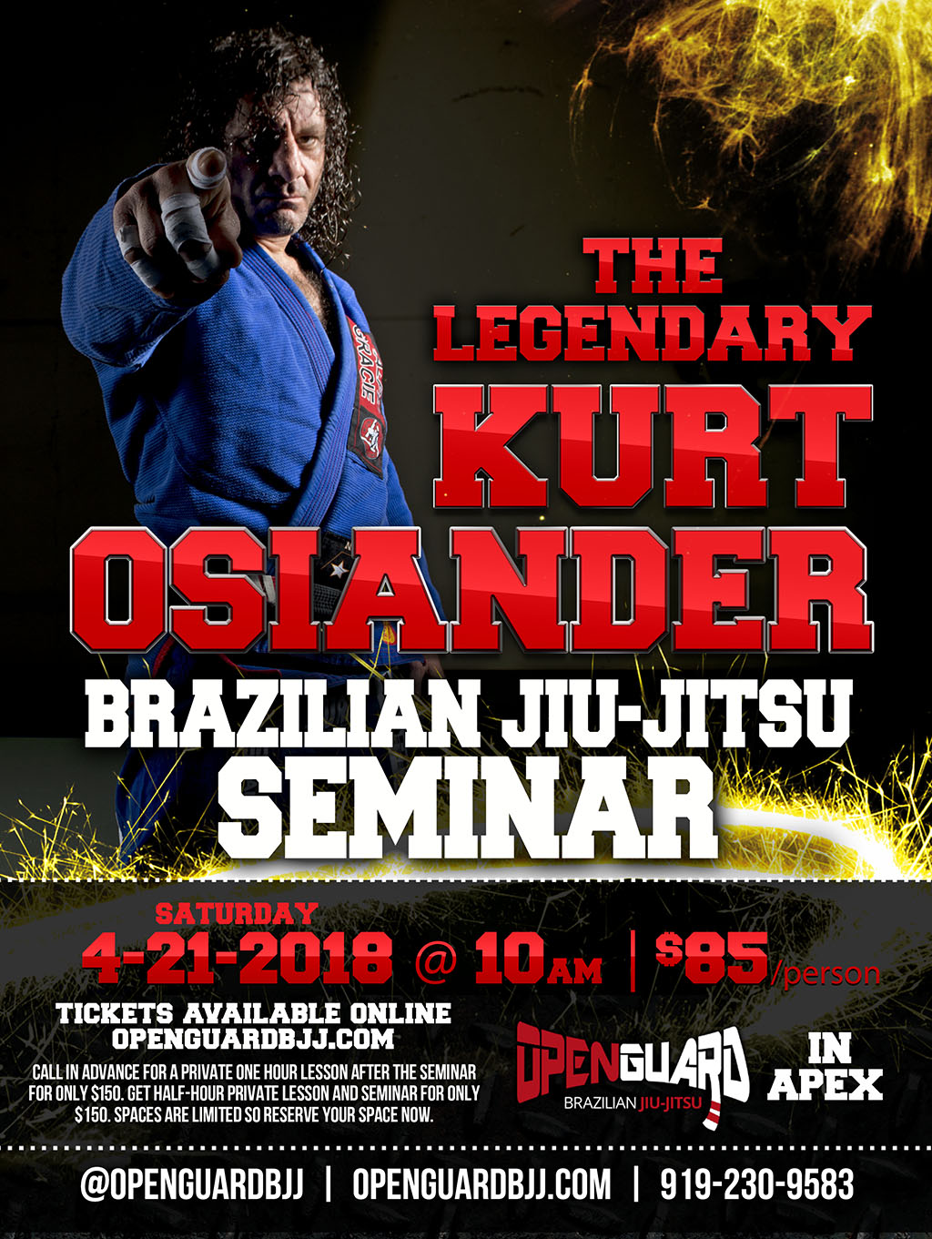 Kurt Osiander BJJ Seminar