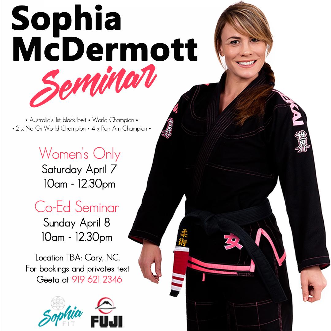 Sophia McDermott Seminar