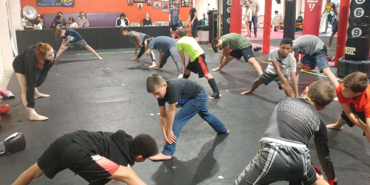 Youth Kickboxing Class