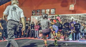 Advanced Kickboxing Competition