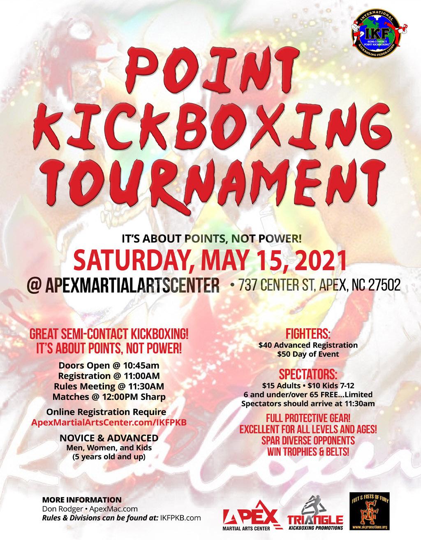 Point Kickboxing Tournament