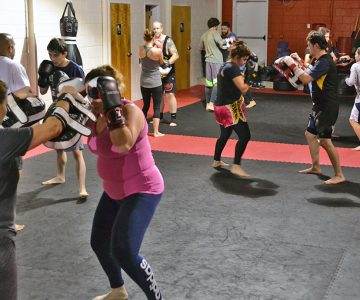 Beginner Kickboxing