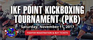 ikf pkb kickboxing event