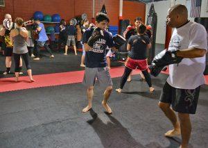 Intermediate Kickboxing