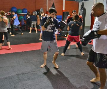 Intermediate Kickboxing