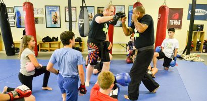 Youth Kickboxing Classes
